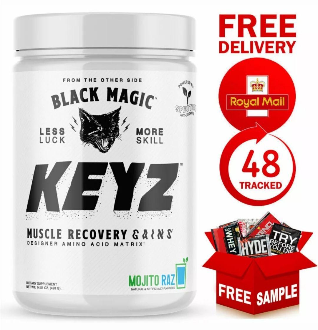 Pina colada / mojito Black Magic KEYZ EAA formula 420G + Sample £30 @ T-Nutrition / eBay