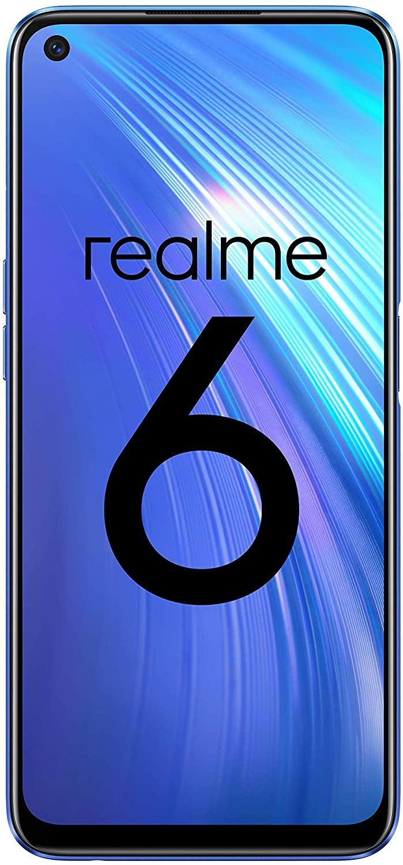 Realme 6 – 4GB RAM/64 GB ROM Comet Blue - £185.94 (£180.26 with Fee Free Card) @ Amazon Spain