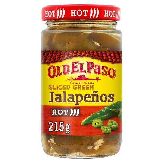Old el paso Sliced Green Jalapenos 215g - 36p instore @ Morrisons