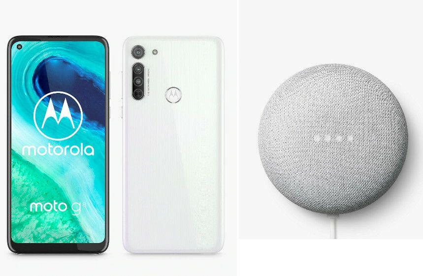 Motorola Moto G8 64GB 4GB Smartphone + Free Google Nest Mini £159.95 Delivered @ John Lewis & Partners