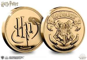 Official Harry Potter Hogwarts Commemorative 99p at Westminster Collection