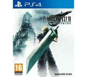 [PS4] Final Fantasy VII Remake - £41.39 With Code Delivered @ Currys/eBay