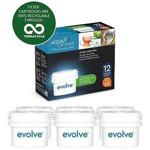 Aqua Optima Evolve 1 year (6 Filters) £15.93/ 2 year pack (12 Filters) for £27.70 at ozaroo/ebay