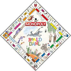 Monopoly Roald Dahl Edition for £27.84 delivered @ Amazon
