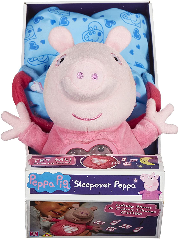 Peppa Pig Sleepover Peppa, Pink £9 @ Amazon (+£4.49 non-prime)