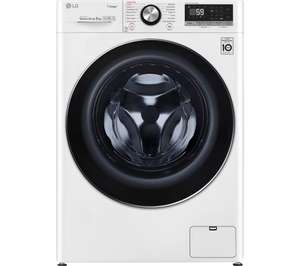LG TurboWash with AI DD V7 F4V709WTS £485.99 with code, possible Quidco too @ Currys PC World