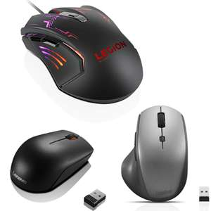 50% Off Selected Mice - Lenovo Legion M200 RGB Gaming Mouse - £13.31 / ThinkBook Wireless Media Mouse - £9.98 Delivered Using Code @ Lenovo