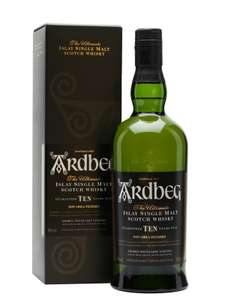 Ardbeg 10 Year Old Islay Single Malt Whisky £36.99 (£4.79 delivery or free with £90 spend) @ House of Malt