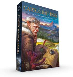 Thunderworks Games Cartographers: A Roll Player Tale Amazon Prime £16.71 Prime (£21.70 W/out Prime) at Amazon