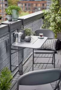 Home Space Saving 2 Seater Balcony Bistro Set £63.95 Delivered From Argos