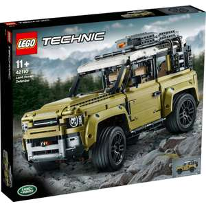 Lego Technic: Land Rover Defender 42110 £139.99 at WOOT