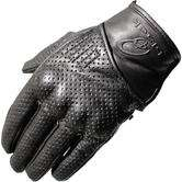 Black Cyclone short leather motorcycle gloves for £13.74 delivered @ GhostBikes
