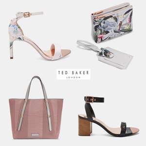 hotukdeals ted baker silver bag