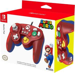 HORI Battle Pad (Mario) - GameCube Style Wired Controller for Switch - £17.58 Delivered @ Amazon France