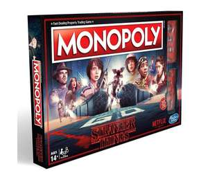 Stranger Things Monopoly Board Game £16.99 + Free delivery @ Bargain Max