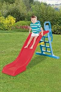 2-In-1 6.5ft Kids Wavy Slide with Water Sprinkler £44.98 (Possible £31.99) Delivered From Studio