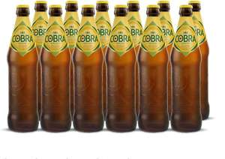 Cobra Premium Beer 12 X 620ml £19.20 at Amazon