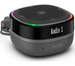 PURE StreamR Splash Portable DAB+/FM Bluetooth Radio - Charcoal £69.97 delivered at Currys PC World