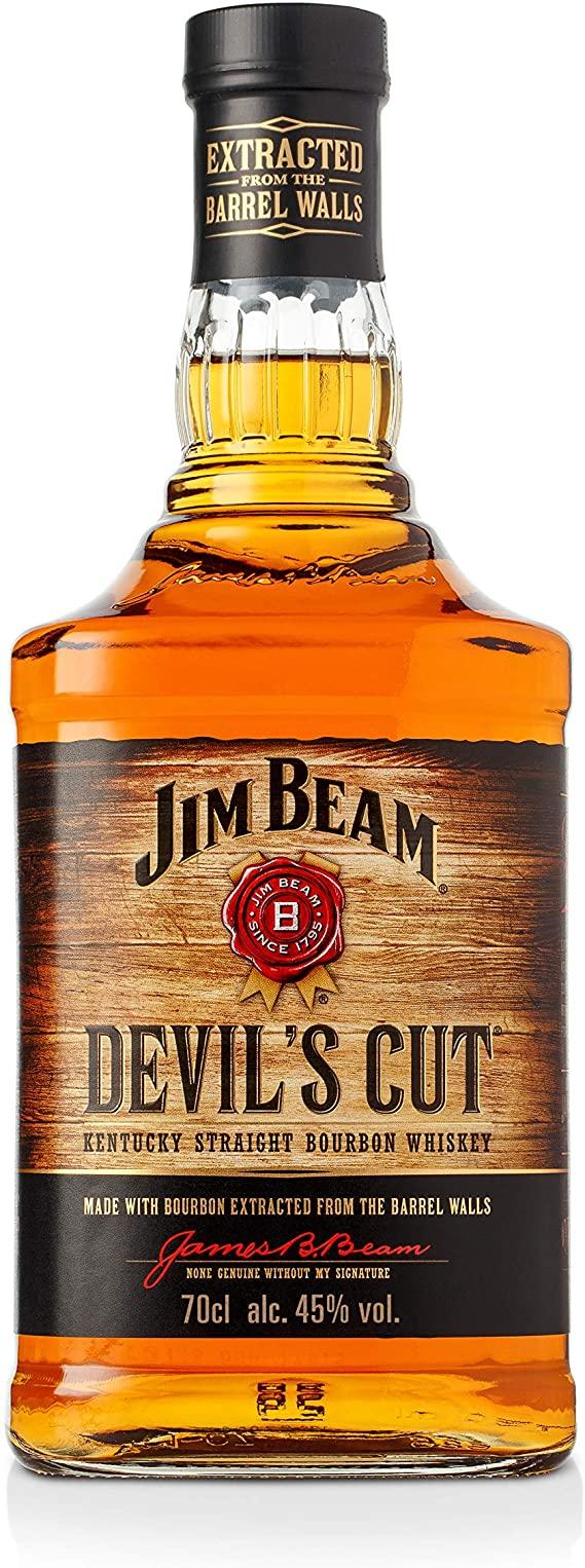 Jim Beam Devil's Cut Kentucky Straight Bourbon Whiskey, 70 cl £18 + £4.49 NP @ Amazon