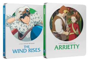 Studio Ghibli Steelbooks - The Wind Rises & Arrietty £22 @ Zavvi + £1.99 Delivery / Free with Red Carpet