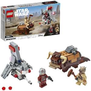 LEGO 75265 Star Wars T-16 Skyhopper vs Bantha Microfighters Playset, A New Hope Movie Collection £13.99 + £4.49 NP @ Amazon