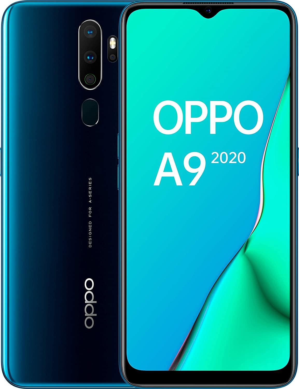 Oppo A9 2020 Verde Marino Móvil 4g Dual Sim 6.5'' Hd+/8core/128gb/4gb Ram/48+8+2+2mp/16mp £171.76 @ Amazon