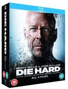 Die Hard Quadrilogy [Blu-ray] £7.84 at Amazon (+£2.99 non prime)