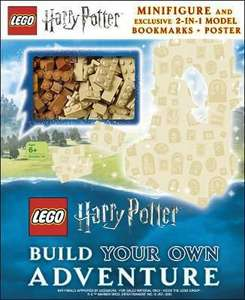 LEGO Harry Potter Build Your Own Adventure: With LEGO Harry Potter Minifigure and Exclusive Model - £11.45 Delivered @ A Great Read
