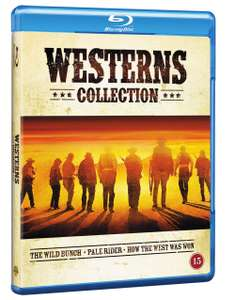 Western Collection (Blu-ray) (The Wild Bunch, Pale Rider, How The West Was Won) - £9.49 at Coolshop
