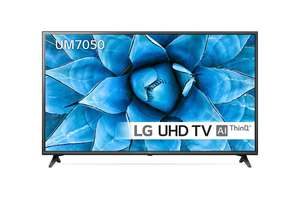 """LG 55UM7050PLC 55"""" Smart 4K Ultra HD TV With HDR and Freeview Play £399 @ ao.com"""