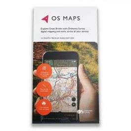 OS Maps 12 Month Digital Subscription £14.99 @ Dash4it