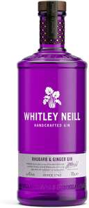 Whitley Neill Rhubarb & Ginger Gin, 70cl - £20 @ Amazon