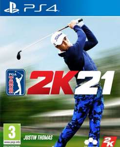 PGA Tour 2K21 for PS4 - pre order £45.95 @ The Game Collection
