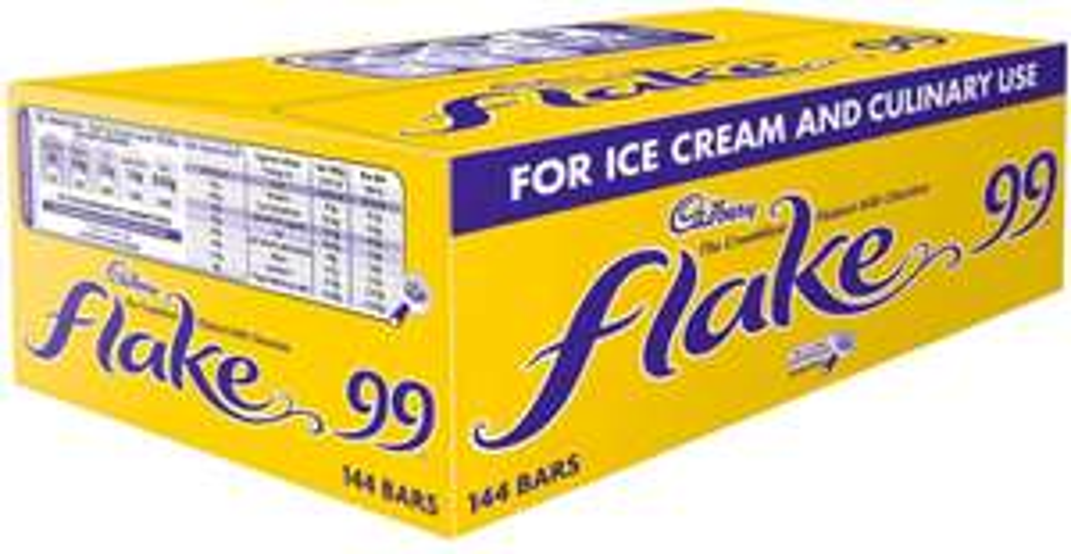 Cadbury Flake 99 Single Bar (Pack of 144 Mini Bars) £17.40 @ Amazon (+£4.49 non-prime)
