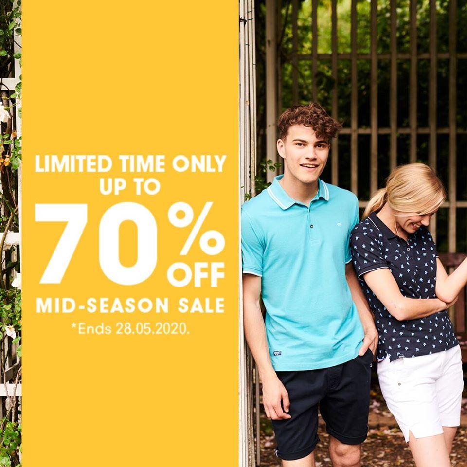 Regatta 70% sale plus 10% off with code * plus 5% Quidco * plus £3.95 delivery / Free over £45