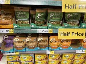 Massive discounts on Graze @ Tesco (50%+) - £1.24