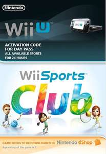 24 hours full access to Wii Sports Club (Wii U code instant delivery) 85p @ ShopTo