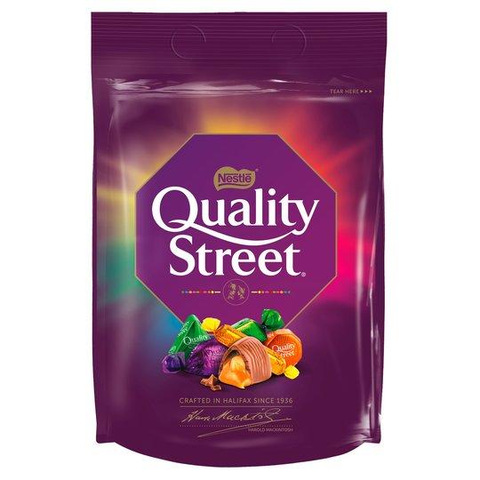 Quality street pouch bag 435g @ Aldi Catford