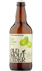 kiwi and lime old mout cider 500ml bottles now only 90p at Iceland instore