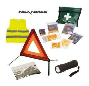 Nextbase Emergency Car Kit Inc Torch. Now only £9.95 delivered - Sold and Shipped by iZilla at Amazon.