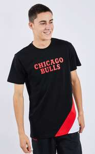 Mens New Era NBA Chicago Bulls T shirt now £7.99 (sizes S, M, L) free delivery @ Footlocker