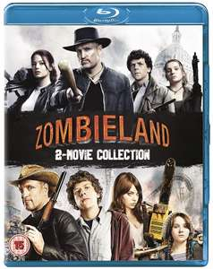 Zombieland 1 (2009) & 2: Double Tap [Blu-ray] [2019] [Region Free] £7.98 (£10.97 without Prime) @ Amazon