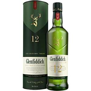 Glenfiddich 12 Year Old Whisky, 70 cl - £25 @ Amazon