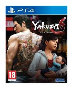 Yakuza 6: The Song of Life PS4 - £17.95 delivered @ Coolshop