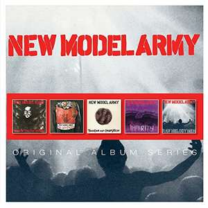 New Model Army (5 CD Boxset with FREE MP3s) No Rest .. / Ghost of Cain / Thunder &.../ Impurity / Raw Melody Men £13.33 + 99p NP @ Amazon