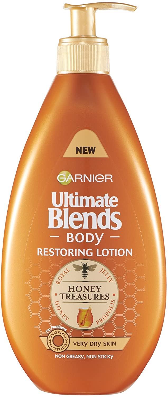 Garnier Ultimate Blends Honey Body   Argan Oil Lotion Very Dry Skin 400ml - £2.99 (+£4.99 NP) Delivered @ Amazon