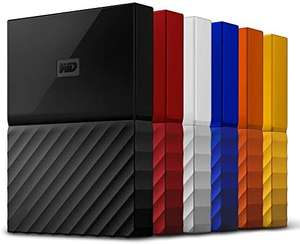 WD My Passport portable drive - 3TB (All Colours) for £58.49 With Code Delivered @ Western Digital Shop