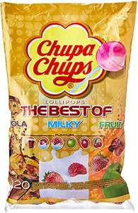 Chupa Chups The Best of Bags / Fruity 120 lollipops £13.99 (£13.29 with S&S / + £4.49 NP) at Amazon