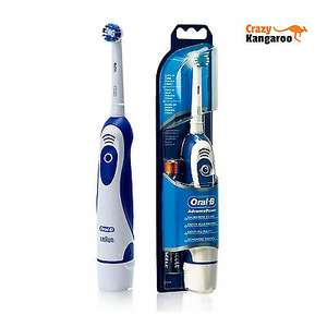 Braun Oral B Advance Power Electric Toothbrush - 2 AA Batteries included at Ebay/Crazykangaroo for £7.95