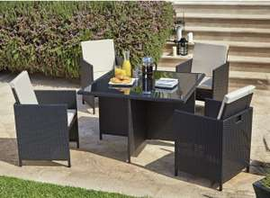 4 seater Rattan Cube Patio Set at Argos for £300 (£6.95 delivery)